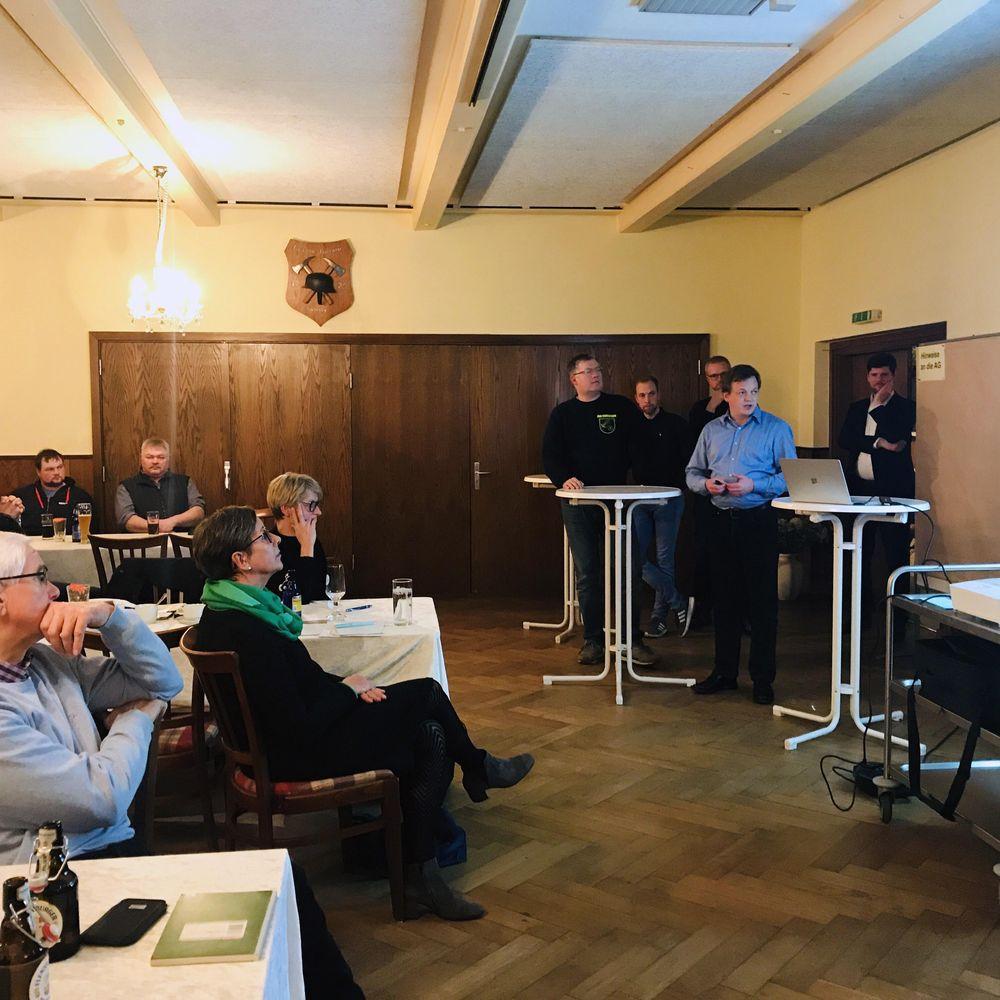 Mitglieder der Arbeitsgruppe unterstützt durch die Referenten am 21.11.2019