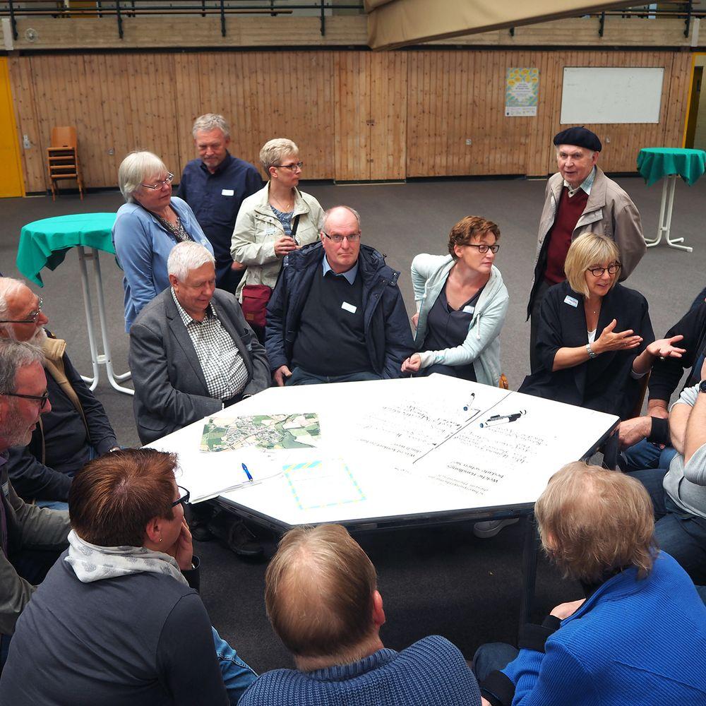Impressionen der Zukunftswerkstatt Sörup (Arbeitsgruppen)